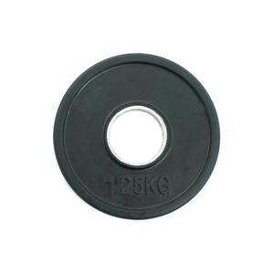 Welfit Δίσκος Λάστιχο Ολυμπιακού Τύπου με μεταλλικό δακτυλίδι 1.25kg ROP18-1.25