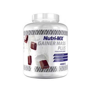 Nutri-MX GAINER MASS PLUS 4000gr Chocolate