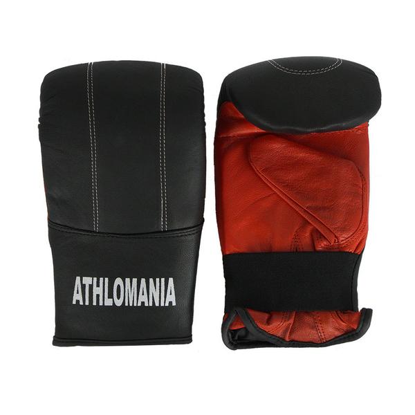 Evolution Fitness Δερμάτινα Γάντια Προπόνησης (σάκου) KG670 Black 2XL